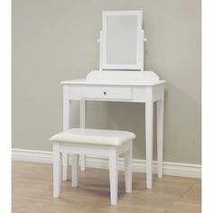 online shopping for Frenchi Home Furnishing 3 Piece Wood Vanity Set from top store. See new offer for Frenchi Home Furnishing 3 Piece Wood Vanity Set Furniture Vanity, Wood Vanity, Home Furniture, Wooden Furniture, Bedroom Furniture, Vanity Desk, Outdoor Furniture, White Vanity Set, Vanity Set With Mirror