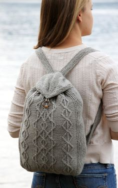 .Adventure backpacks, available in kid-size too. Free pattern...I want to make one right now!