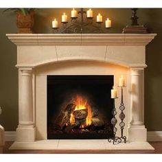 Check out the Balmer Mantels 4115-TC Elgin ThinCast Stone Mantel priced at $2,503.44 at Homeclick.com.