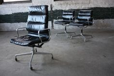 The Executive chair adds 7 inches to the Management chair.