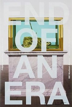 Shop - Damien Hirst - End of an Era (B) Poster - Gagosian Gallery