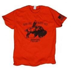 American Victory Born Free Tee American Victory Graphic Tee