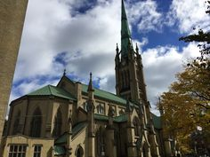 The Church of Canada (Anglican Church) in the Old town area of Toronto...