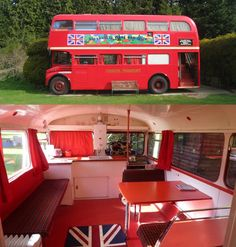 """It's a 1964 Routemaster London double-decker and is perfect for a """"Summer Holiday""""."""