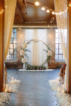 Stunning wedding ceremony decor and backdrop - round wedding arch styled with gr. Stunning wedding ceremony decor and backdrop - round wedding arch styled with gr. Stunning wedding ceremony decor and . Indoor Wedding Decorations, Indoor Wedding Arches, Rustic Wedding Backdrops, Indoor Ceremony, Ceremony Arch, Wedding Ceremony Decorations, Backdrop Wedding, Rustic Backdrop, Wedding Favors