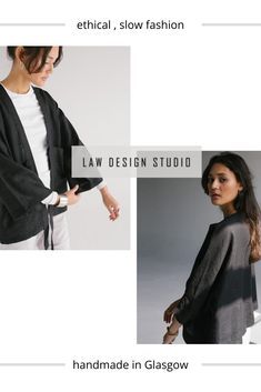 LAW Design Studio is a small batch slow fashion brand based in Glasgow. The label was founded in 2018 by Scottish fashion designer and freelance illustrator Gillian McNeill. We create sustainable womenswear with timeless, minimalist style. Our aim is to help you build a capsule wardrobe that is as beautiful as it is functional, with consciously crafted linen and organic cotton clothing. Discover more from LAW Design Studio! #slowfashion #ethicalfashion #sustainablefashion #LAWdesignstudio