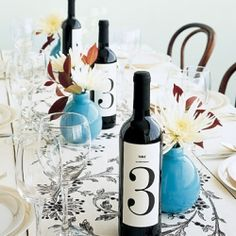 If you're on a budget, give your guests wine. Here are 6 ways to have wine at your wedding. Photo by Kate Sears via Martha Stewart Weddings.