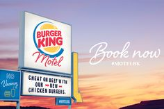Burger King New Zealand Opens Up a Motel So You Can 'Cheat on Beef' - Print (image) - Creativity Online