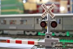Level Crossing: A LEGO® creation by Peter Campbell : MOCpages.com