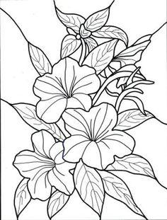 dibujos para colorear de flores exoticas                                                                                                                                                      Más