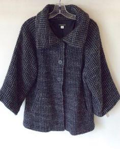 #EileenFisher #Jacket   Size S   $179! Call for more info (781)449-2500. #FreeShipping #ShopConsignment  #ClosetExchangeNeedham #ShopLocal #DesignerDeals #Resale #Luxury #Thrift #Fashionista