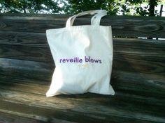 reveille blows. futura, puffy paint, glitter... done.