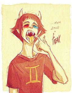 But we like freaks. ~v~ // Between us, I'm a freak, too. Love ya.