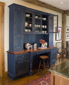 Kitchen Hutch And Rustic By Wendy