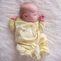 Woodland Sunshine Unisex Sleepsuit
