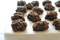 Chocolate Coconut Oatmeal Clusters | Bev Cooks