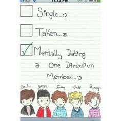 Mentally dating Niall Horan, Zayn Malik, Harry Styles, Liam Payne, and Louis Tomlinson. I'm pretty sure you are too. One Direction Fan Art, One Direction Drawings, One Direction Louis, One Direction Humor, One Direction Pictures, Strong One Direction, Direction Quotes, Zayn Malik, Niall Horan