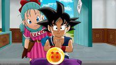 The Good ol Dragon Ball with Goku and Bulma
