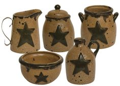 Salt glaze pottery miniatures. Must have for my collection