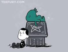 Cthulhu meets Peanuts...