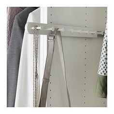 KOMPLEMENT Bügel, ausziehbar, weiß - weiß - 58 cm - IKEA