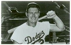 Before he was on The Rifleman tv show Chuck Connors was in baseball.  I read somewhere that he was ,also, in basketball.