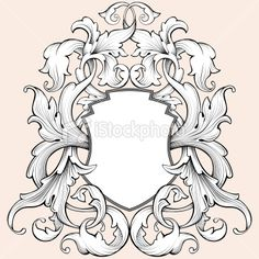Coat Of Arms Royalty Free Stock Vector Art Illustration