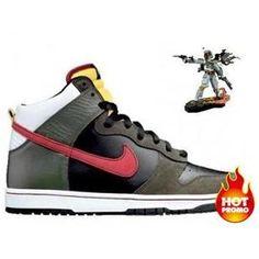 Mens Nike Dunk High Premium SB - Boba Fett 68b543ac7