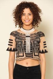 t-shirt tribal AMOOO