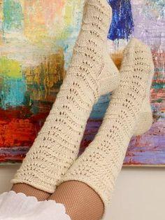 Nordic Yarns and Design since 1928 Fishnet Socks, Lace Socks, Wool Socks, Yarn Colors, Knitting Socks, Knitting Ideas, One Color, Fingerless Gloves, Arm Warmers
