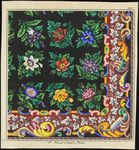 Repeating Patterns, Needlework, Victorian, Quilts, Wool, Embroidery, Blanket, Antiques, Painting