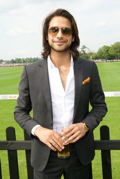 Luke Pasqualino at the Audi International 2014 - Guards Polo Club, Windsor Great Park
