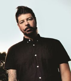 Guitar player Jim Root of Slipknot and Stone Sour