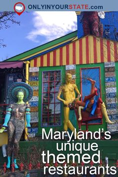 13 Themed Restaurants That Will Transform Your Maryland Dining Experience Maryland Day Trips, Visit Maryland, Annapolis Maryland, Baltimore Maryland, Oxon Hill Maryland, Hanover Maryland, Baltimore Bars, Baltimore Food, Diy Usa