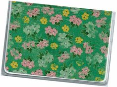 Mini Wallet / Credit Card Case  Eleanor Floral by rabbitholeonline, $4.25