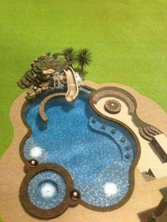 Alge In Swimming Pool . Alge In Swimming Pool . Aqua Chem Algae Eliminator for Swimming Pools Amazing Swimming Pools, Swimming Pools Backyard, My Pool, Swimming Pool Designs, Awesome Pools, Fire Pit In Pool, Nice Pools, Inground Pool Designs, Pool Fun