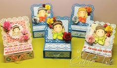 Mini Magnolia Tilda Easel Card Box by cabiotse - Cards and Paper Crafts at Splitcoaststampers