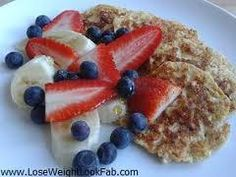 Slimming world syn free pancakes: 1 pot mullerlight yogurt, 35g porridge oats, 2 eggs. Soak oats in yogurt. Whisk in eggs. Cook in small dollops using fry light.
