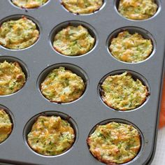 Zucchini Tots , great healthy snack for kids and adult .