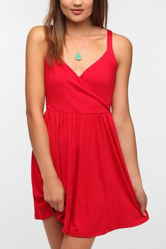Urban Outfitters - Pins and Needles Knit Surplice Dress