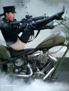 Girl Motorcycle -                                                                                          Motorcycle Girls On Harleys | Motorcycles, Girls and Violence » Motorcycle.com News