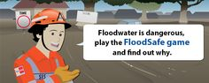 """Victoria State Emergency Service's created an interactive game to teach kids about flood safety called 'FloodSafe."""""""