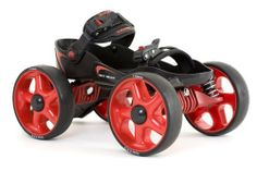 Skorpion Multi Terrain Skates - Small Red / Black by Skorpion. $139.99. Specifically designed to wear with your own shoes. Can be used on almost every surface - pavements to BMX tracks, nature trails, boardwalks, grass and cobblestones.. Low centre of gravity makes Multi Terrain Skates stable and easy to balance on. These high performance skates will provide you with all the fun, look and performance of an off-road vehicle.. Easily adjustable footplates that fit almost any-...