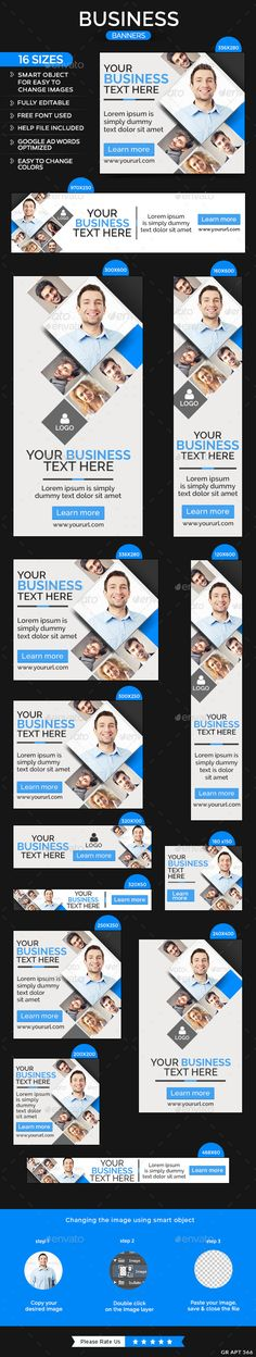 Business Banners Template #design Download: http://graphicriver.net/item/business-banners/11358185?ref=ksioks