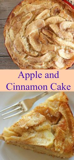 Apple and Cinnamon Cake, a healthy apple loaded cake, the perfect breakfast, snack or dessert cake recipe. A yummy holiday or Fall idea dessert/anitalianinmykitchen.com