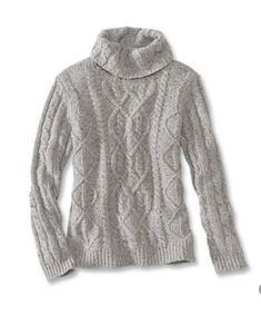 Wool and cashmere Donegal yarns add visual interest to this updated women's turtleneck. Donegal, Cashmere Wool, Fall Winter Outfits, Chic Outfits, What To Wear, Autumn Fashion, Sweaters For Women, Turtle Neck, My Style
