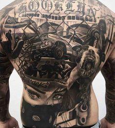 Western Dragon Sleeve Tattoos Marquesan Tattoos - Western dragon sleeve tattoos _ western drachenärmel tattoos _ t - Gangster Tattoos, Chicano Tattoos, Marquesan Tattoos, Body Art Tattoos, Tatoos, Cool Back Tattoos, Back Tattoos For Guys, Back Tattoo Women, Sleeve Tattoos For Women