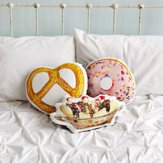 Pillows for when you're hungry but too tired to eat.