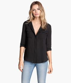 Product Detail | H&M US_Airy Blouse