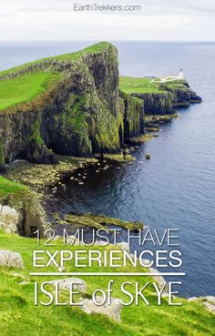 Best things to do on the Isle of Skye, Scotland: Quiraing, Old Man of Storr, Neist Point, Dunvegan Castle, Fairy Pools, Talisker Distillery, Portree, Mealt Falls and more. #isleofskye #scotland #storr #travelideas #bucketlist